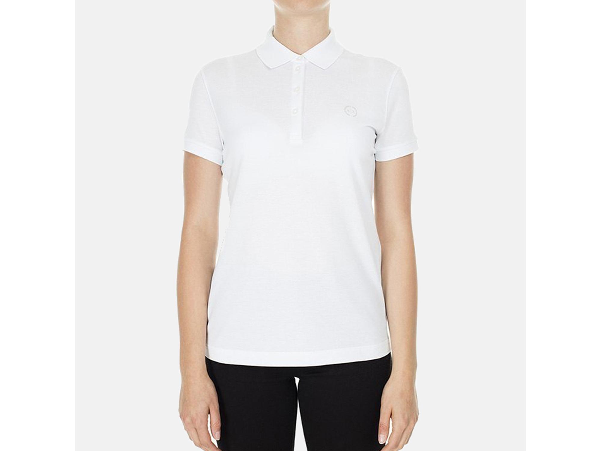 ARMANI EXCHANGE Ženska majica kratek rokav 8NYF73 YJ17Z 1000 XS / INTL BELA