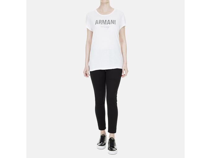 ARMANI EXCHANGE Ženska majica kratek rokav 8NYT98 Y9C8Z 1476 L / INTL RDEČA