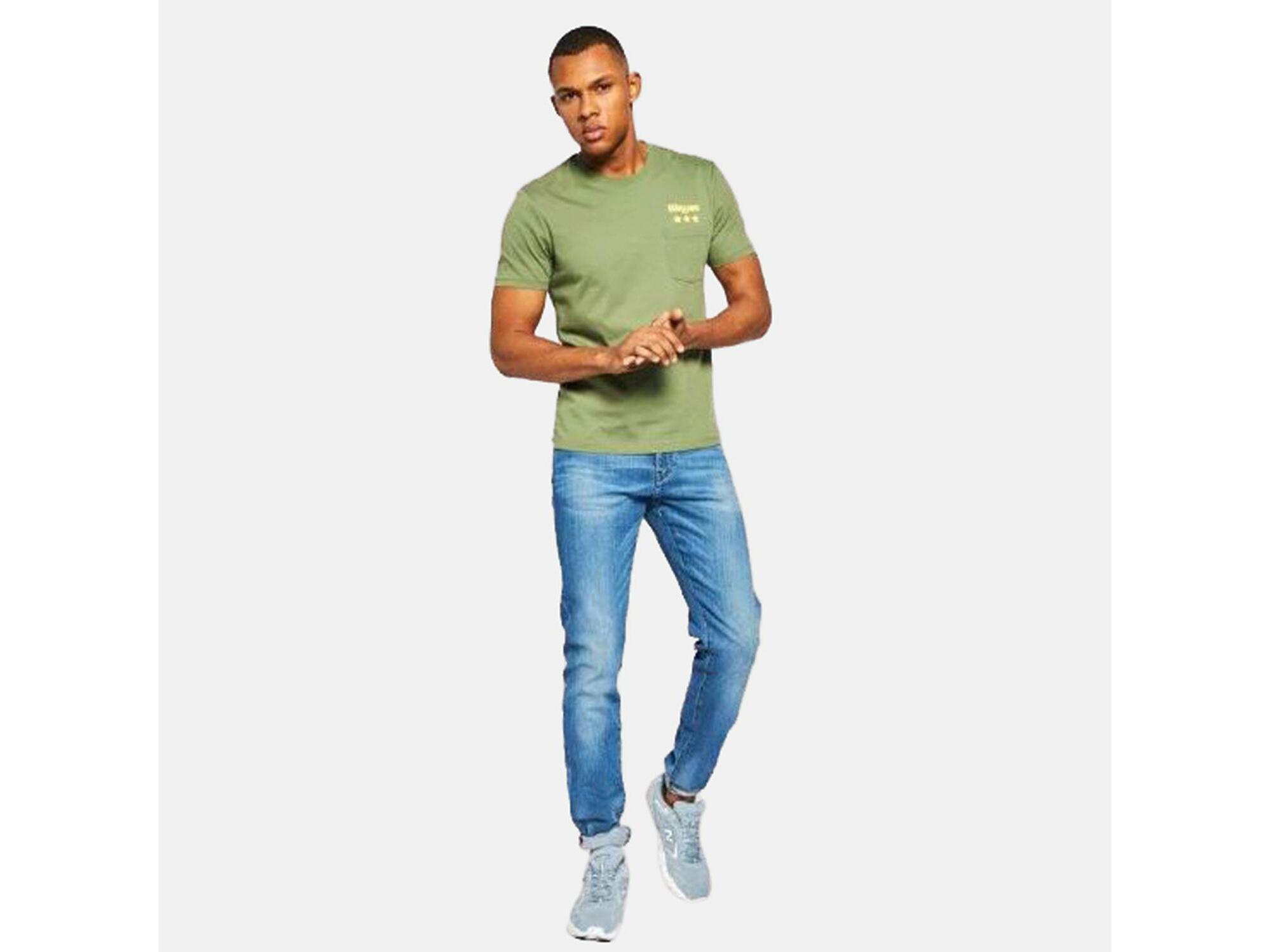 ARMANI EXCHANGE Moški jeans denim 3HZJ13 Z1RXZ 1500 36/L / DENIM MODRA