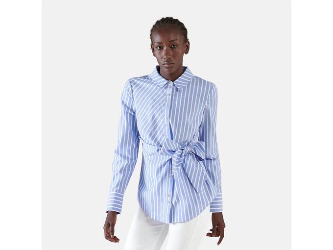 SILVIAN HEACH Ženska bluza dolg rokav PGP21346CA BLUE/WHITE 44 / IT VEČBARVNO