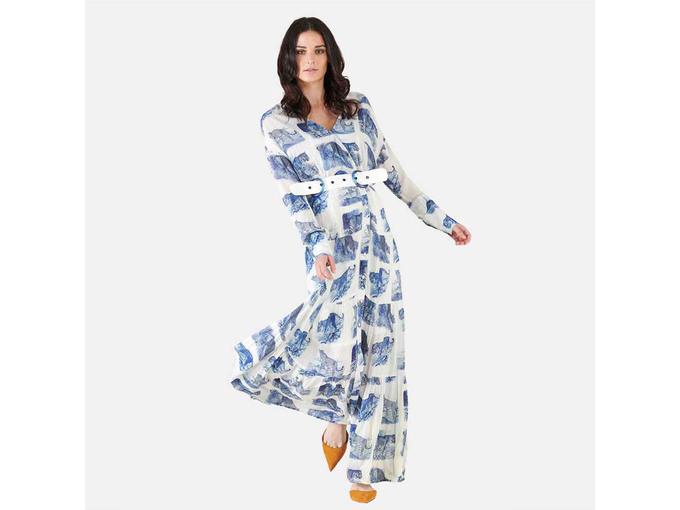 SILVIAN HEACH Ženska obleka PGP21165VE FANT.UNIQ 40 / IT VEČBARVNO