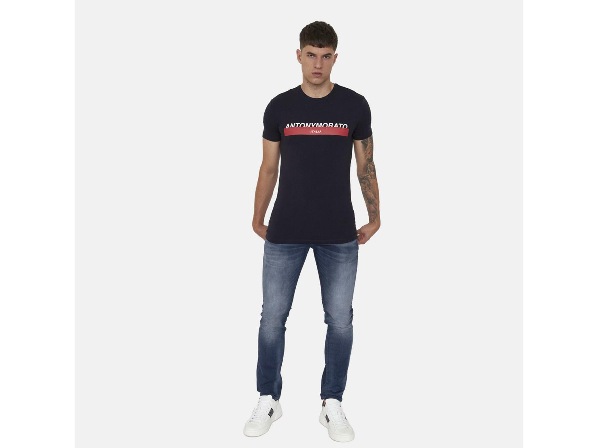 ANTONY MORATO Moški jeans denim MMDT00242FA750257W01184 7010 38 / DENIM MODRA