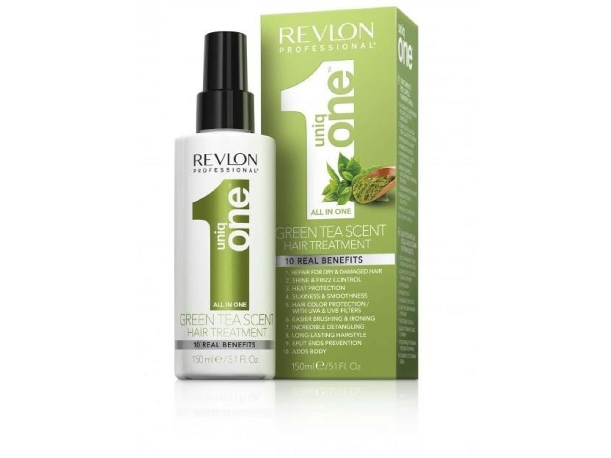 Revlon professional maska za lase v razpršilu Uniq one GREEN TEA 150 ml