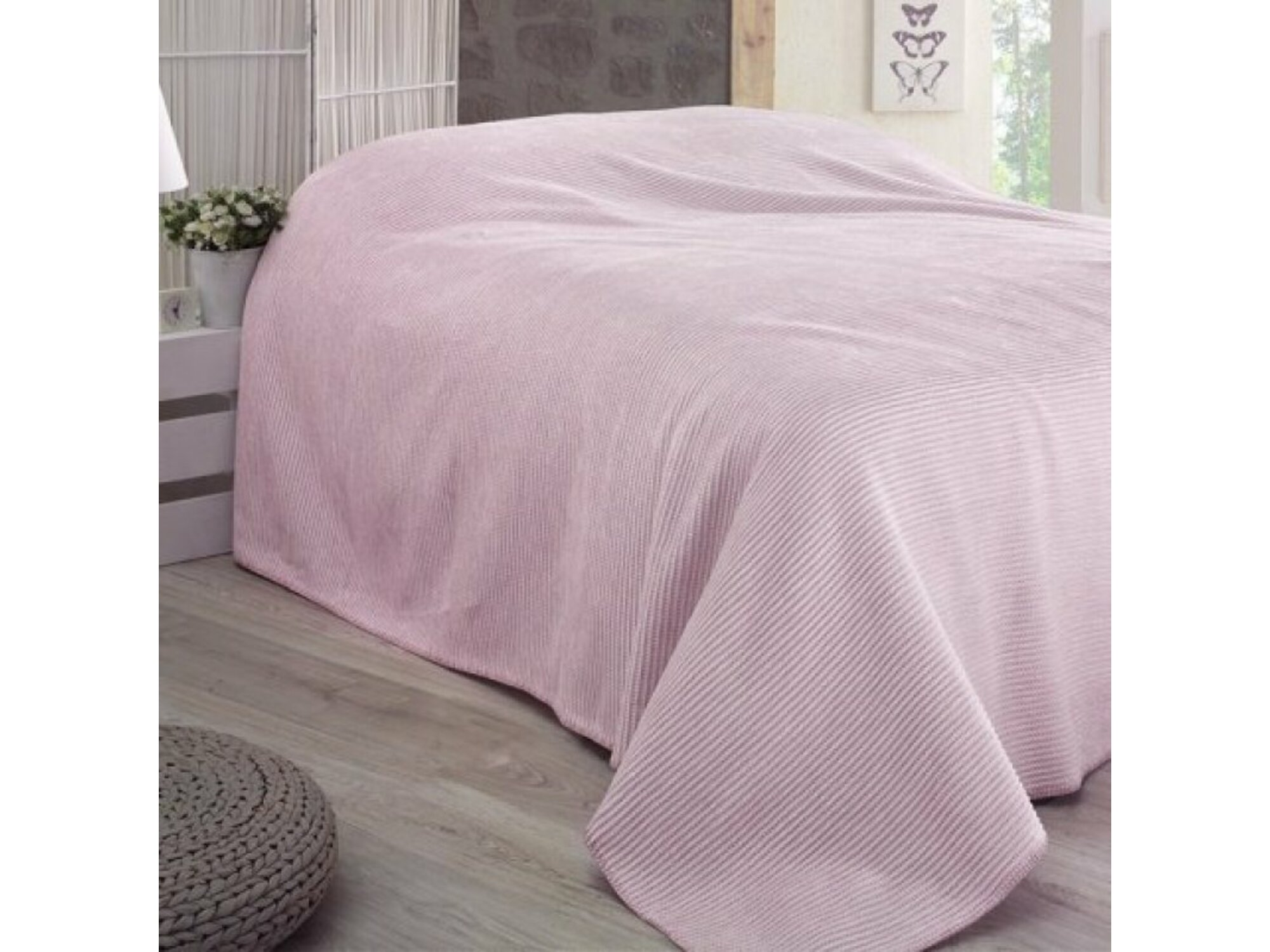 DekorDom Ćebe-prekrivač Lady Blanket 150x200cm – Lilac