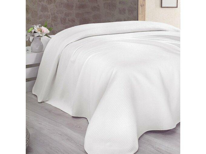 DekorDom Ćebe-prekrivač Lady Blanket 200x230cm – White