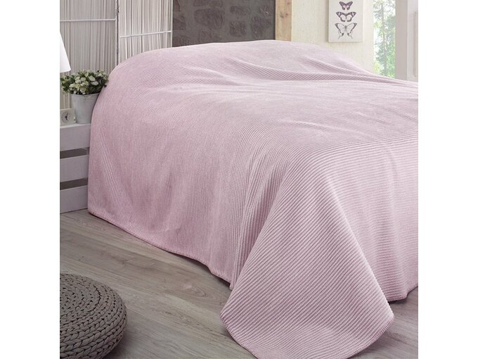 DekorDom Ćebe-prekrivač Lady Blanket 200x230cm - Lilac