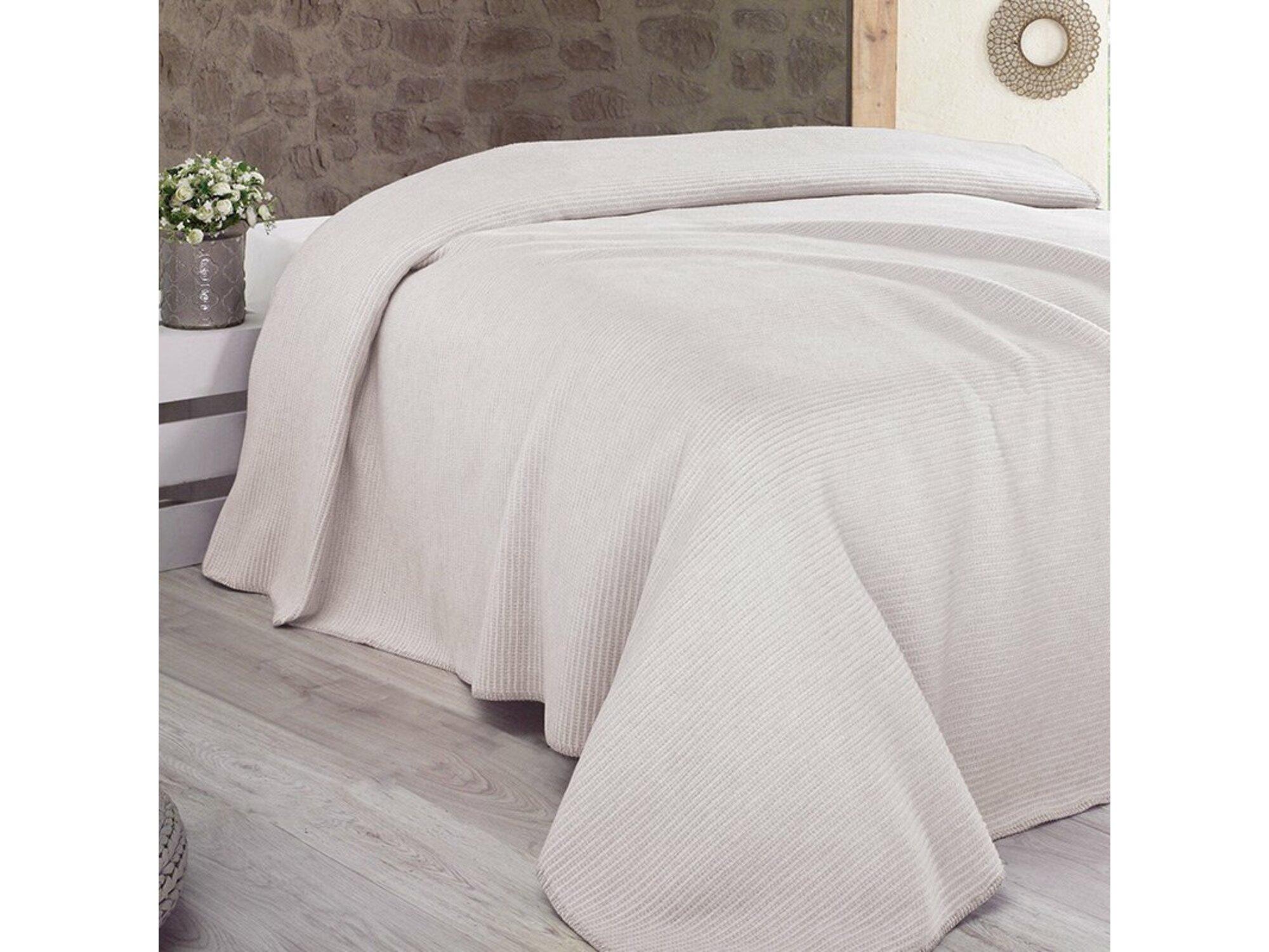 DekorDom Ćebe-prekrivač Lady Blanket 200x230cm – Natural