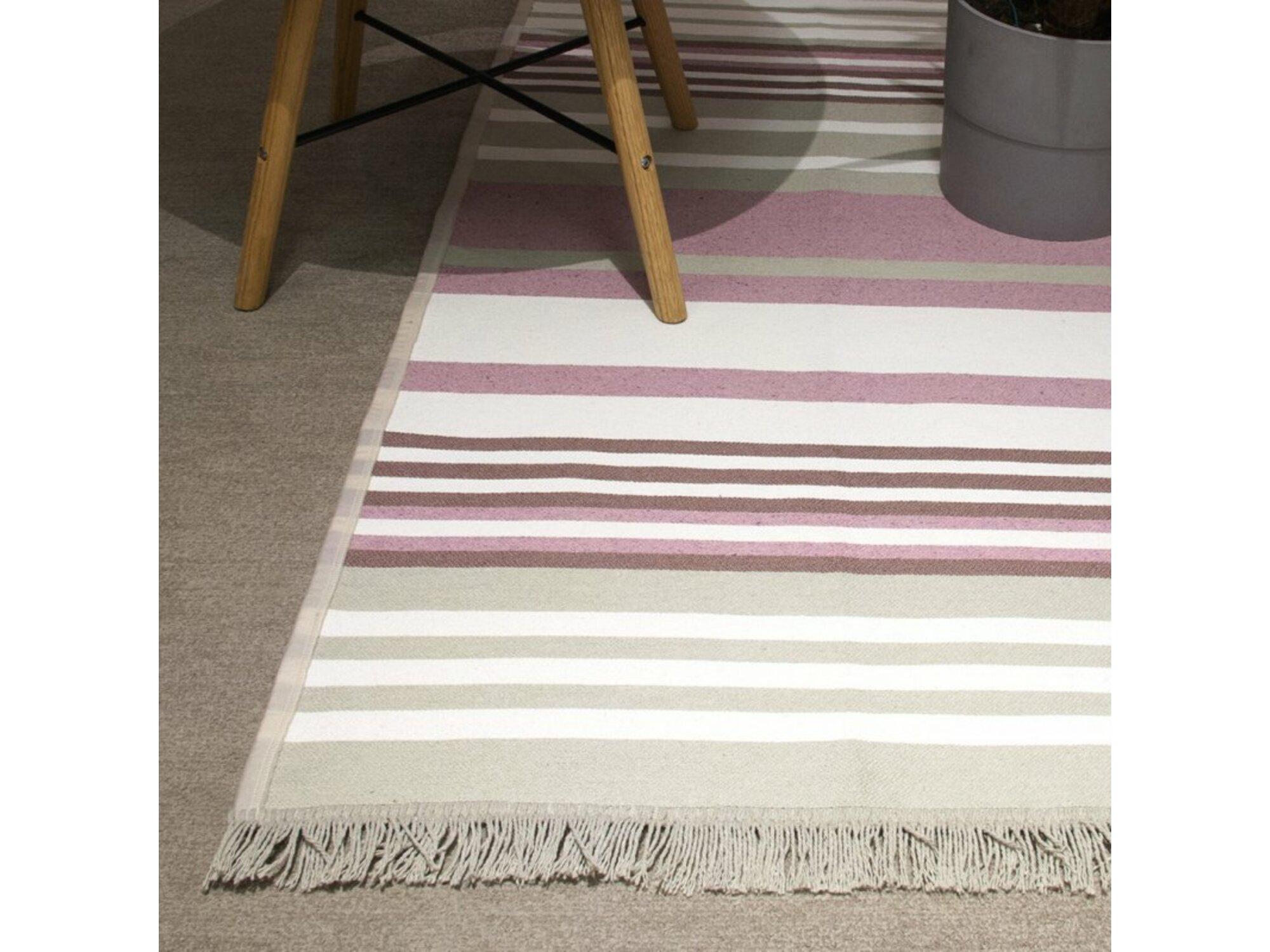 DekorDom Tepih Stella 80x150cm - 1814A - Grey Pink
