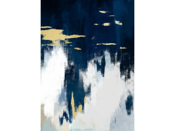 DekorDom Slika 60x90cm Toir25668 - Gold Black White