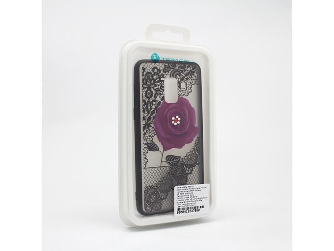 Torbica Lace Flower za Samsung A530F Galaxy A8 2018