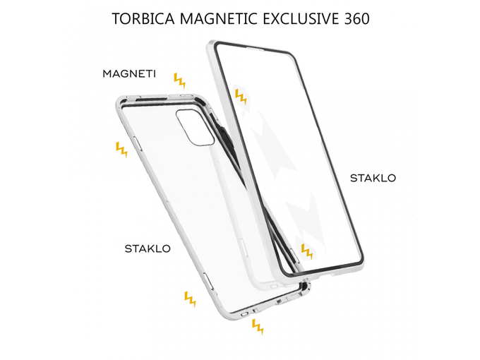 Torbica Magnetic exclusive 360 za Samsung A315F Galaxy A31