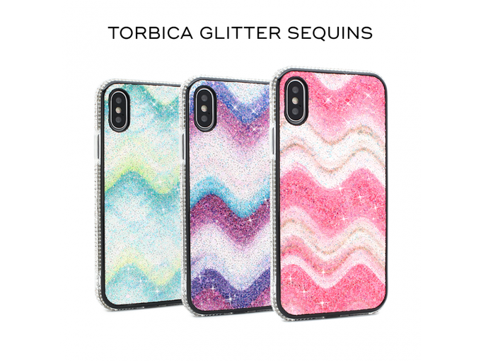 Teracell Torbica Glitter Sequins za iPhone 7/8