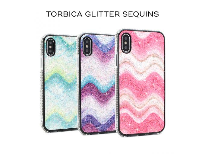 Teracell Torbica Glitter Sequins za Samsung Galaxy Note 10 N970F