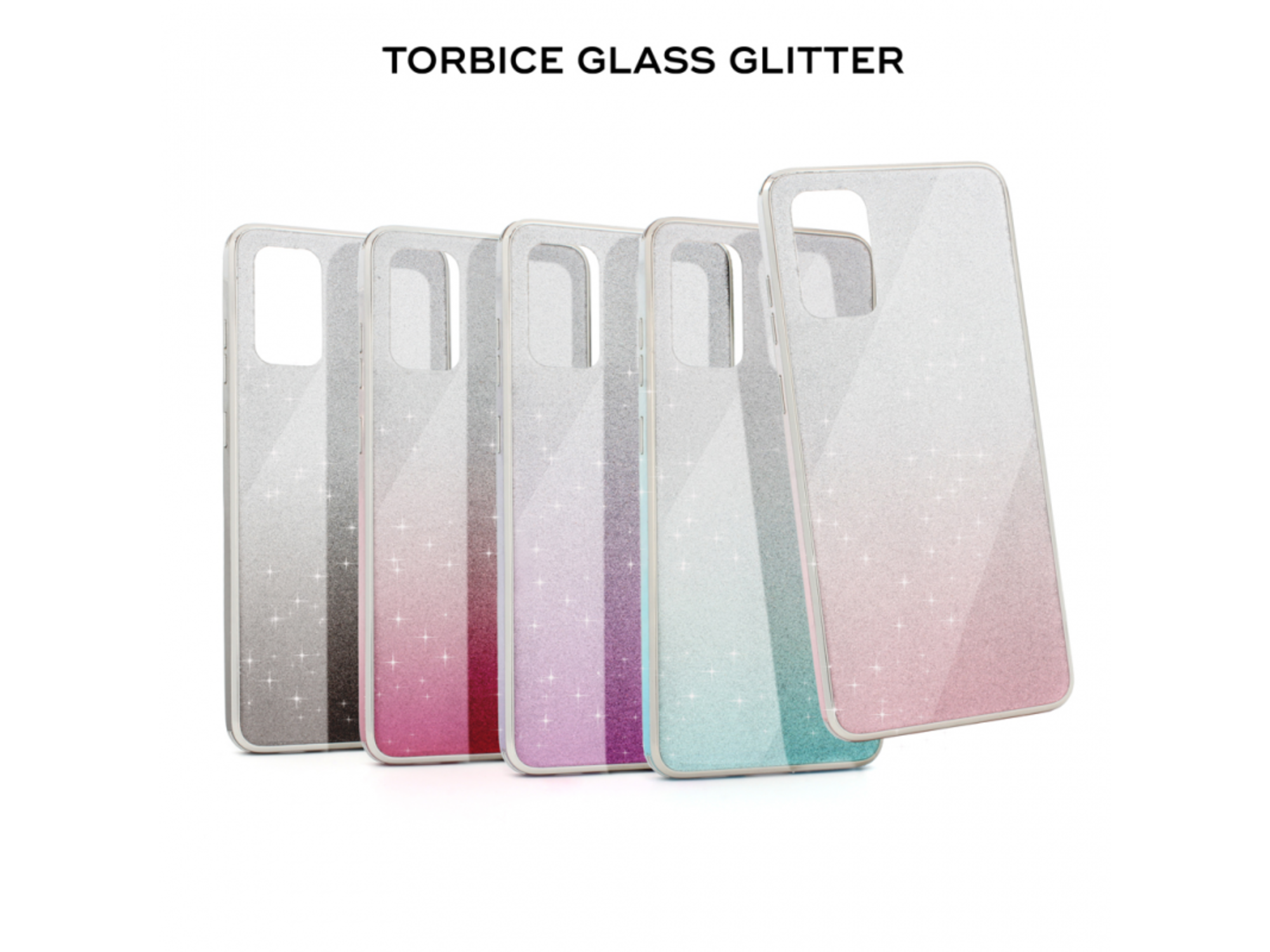 Torbica Glass Glitter za Samsung Galaxy S20 Plus A985F
