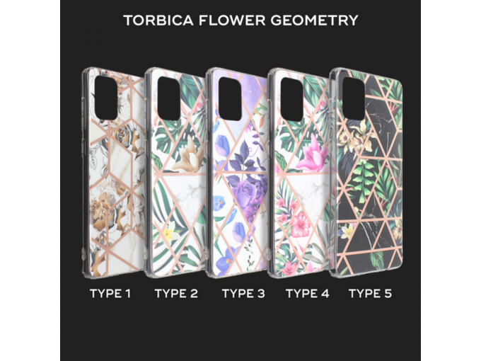 Torbica Flower Geometry za Samsung Galaxy A41 type 1 A415F