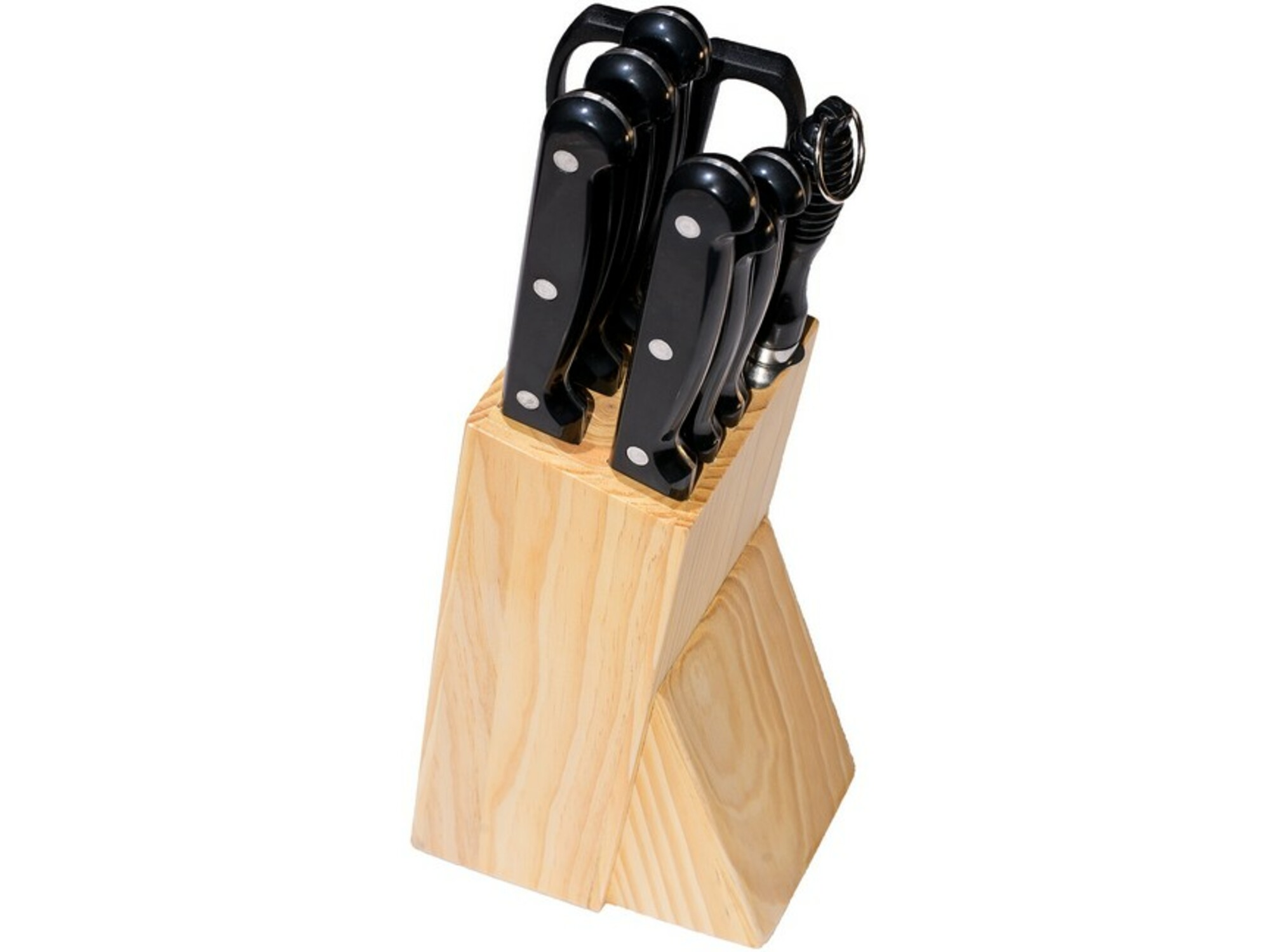 Linea Set noževa u drvenom stalku LSNS-0388