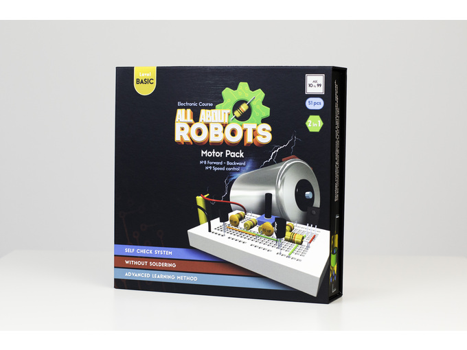 All About Robots Motor Pack - Set motor