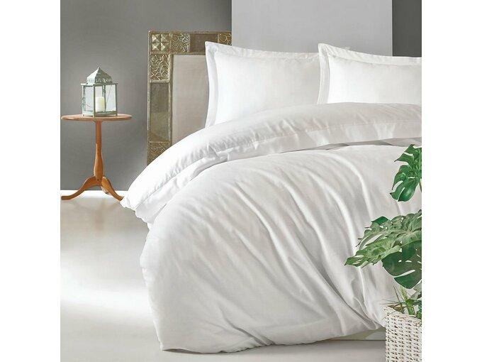 Cotton Box Posteljina Elegant Saten Beyaz