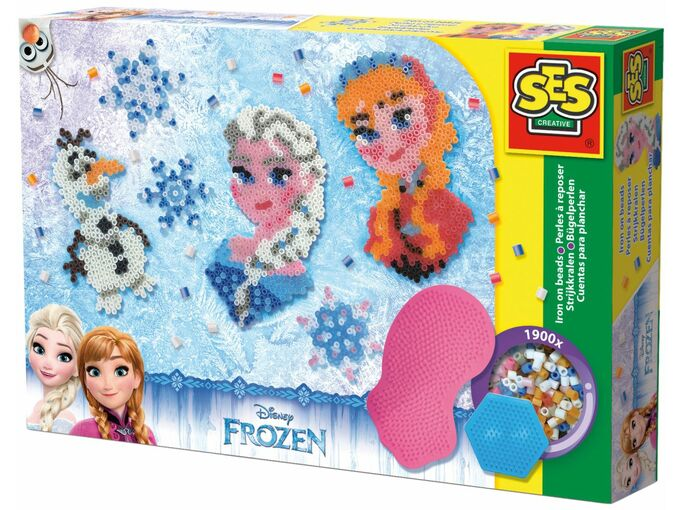 Ses Iron on beads Frozen XL 36-341000