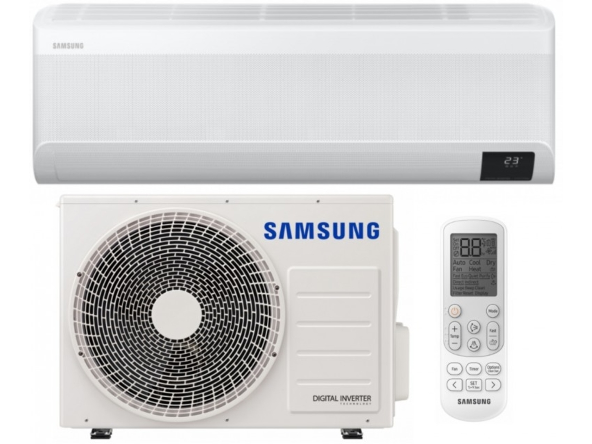 Samsung Klimatska naprava z montažo WIND FREE AVANT AR18TXEAAWKNEU/AR18TXEAAWKXEU - 5kW