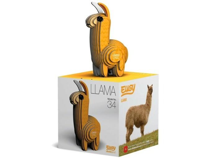 DODOLAND lepljenka domače živali Eugy Lama