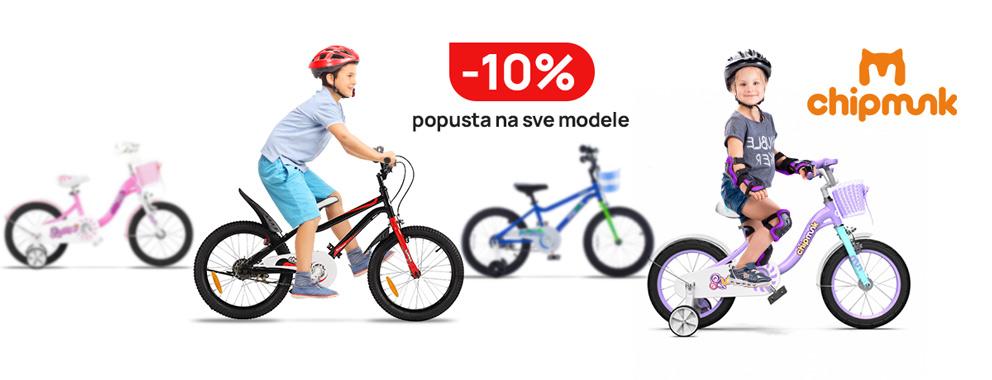 Chipmunk bicikli