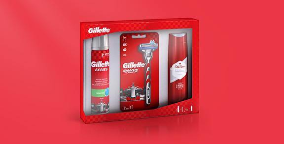 Gillette ponudba za britje